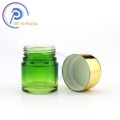 High quality 3.5 gram 1 oz 2 oz 3 oz 4oz glass jar with plastic lids child proof glass jars containers