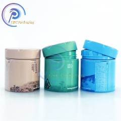2oz child proof metal container aluminum tin cans