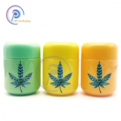 40 dram plastic child proof CBD gummy jar