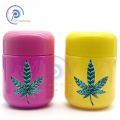 40 dram CBD gummy bear jar with CR lid