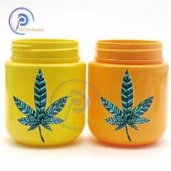 30 dram pet plastic cannabis flower jars child proof lid